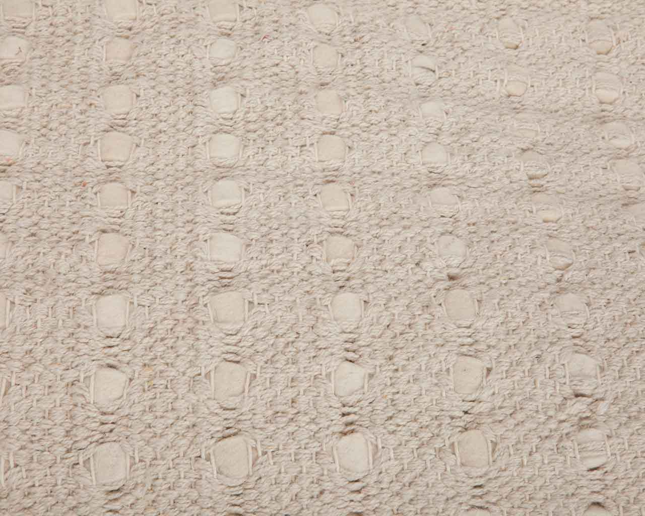braided felt rug warm feeling cream color 1 1