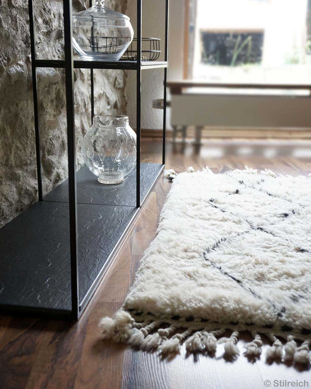 black racks glass decoration pieces berber modern indoor rug