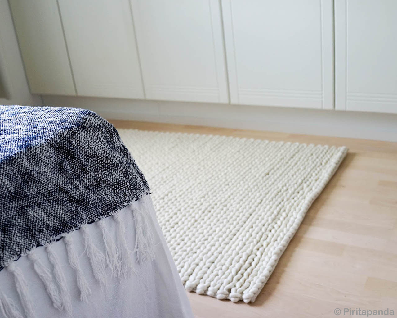 white cabinet and bed corner made in india contemporary felt ball rugs usa