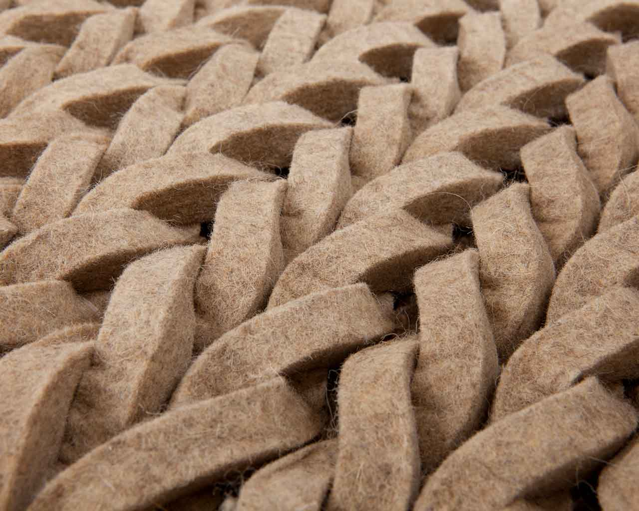 felted rugs from india beige brown natural handmade 1