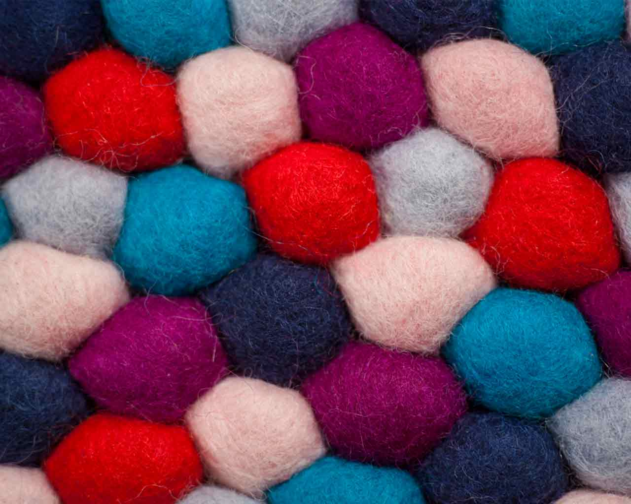 danish candy design balls wool