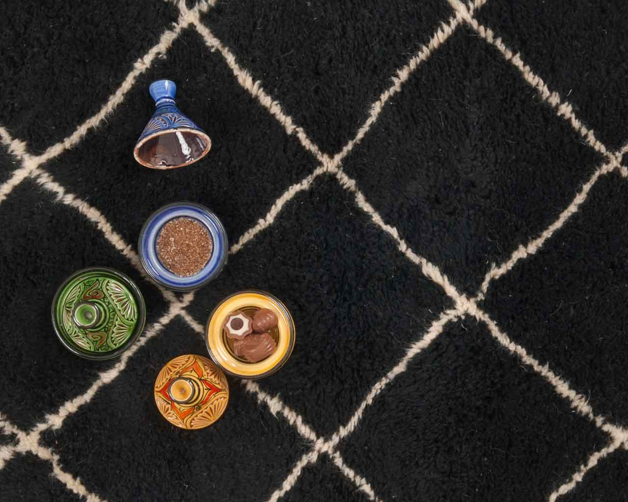moroccan design bowls very large carpets 2